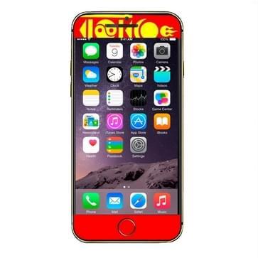iPhone 6 & 6S Mongolie vlag patroon beschermende stickers