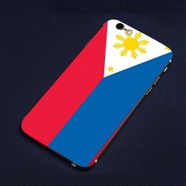 iPhone 6 & 6S Filippijnen vlag patroon beschermende stickers