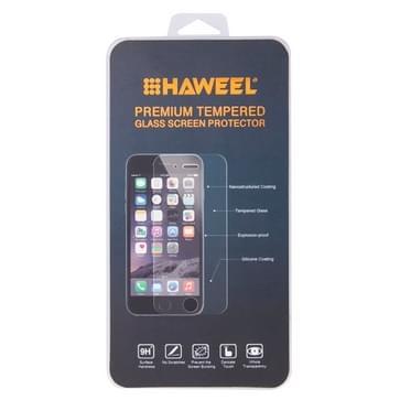 2 stuks voor iPhone 6 0,26 mm 9H oppervlakte hardheid 2.5D explosieveilige terug getemperd glas Film