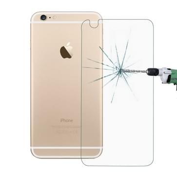 10 stuks voor iPhone 6 0,26 mm 9H oppervlakte hardheid 2.5D explosieveilige terug getemperd glas Film