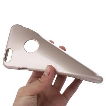 iPhone 6 & 6S TPU back cover Goospery Hoesje (koffie kleur)