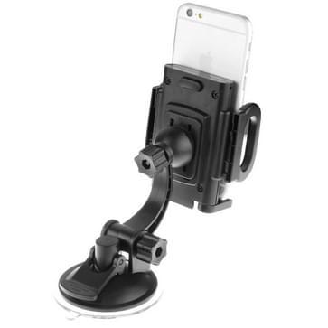 universeel auto voorruit Suction Mount beugel houder voor iPhone 6 / 6S & 6 Plus / 6S Plus / iPhone 5 & 5S / PDA / GPS / MP4, verstelbare breedte: 4-12cm