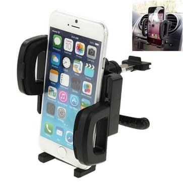 360 graden roterende Air Vent auto houder-Mount voor iPhone 6 / Smartphone, Clip Afmeting: 55mm - 112mm