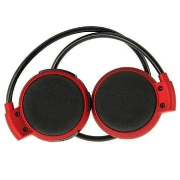 Mini-503 Sport bluetooth Stereo hoofdtelefoon Headset muziek Koptelefoons voor mobiele telefoon / PC  steun TF Card(rood)