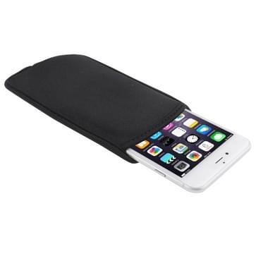 Waterdichte hoes voor iPhone 6 Plus & iPhone 6S Plus / Samsung Galaxy Note 4, Afmeting: 16cm x 8.5cm(zwart)