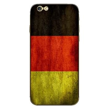 iPhone 6 Plus & 6S Plus Duitsland vlag patroon beschermende stickers