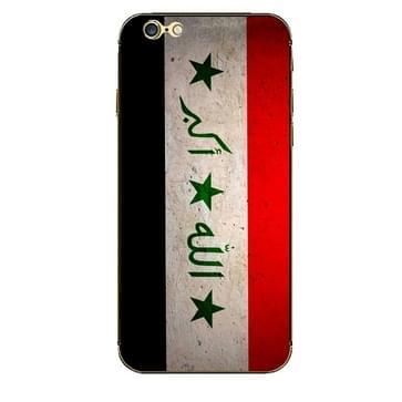 iPhone 6 Plus & 6S Plus Irak vlag patroon beschermende stickers