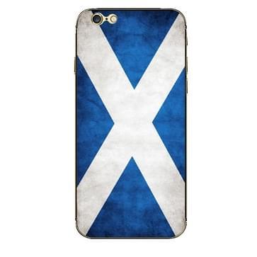 iPhone 6 Plus & 6S Plus Schotland vlag patroon beschermende stickers