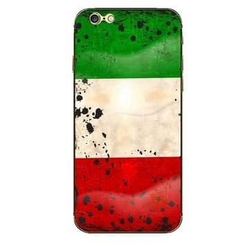 iPhone 6 Plus & 6S Plus Koeweit vlag patroon beschermende stickers