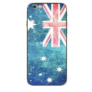 iPhone 6 Plus & 6S Plus Australie Australische vlag patroon beschermende stickers