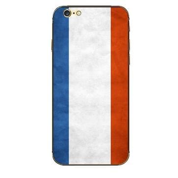 iPhone 6 Plus & 6S Plus Frankrijk vlag patroon beschermende stickers