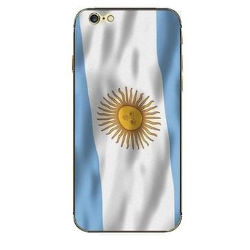 iPhone 6 Plus & 6S Plus Argentinie Argentijnse vlag patroon beschermende stickers