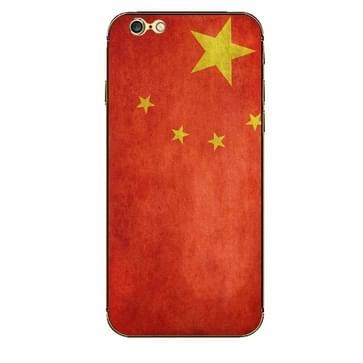 iPhone 6 Plus & 6S Plus China vlag patroon beschermende stickers
