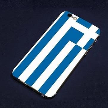 iPhone 6 Plus & 6S Plus Griekenland vlag patroon beschermende stickers