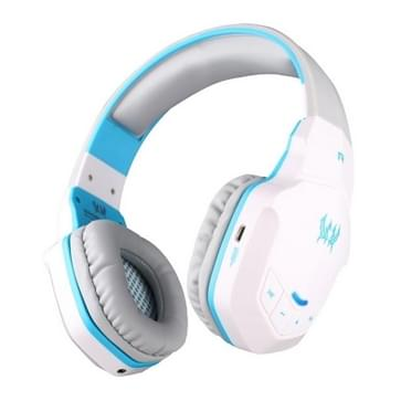 KOTION elk B3505 Wireless bluetooth 4.1 Stereo Gaming Headset ondersteuning NFC met Mic voor Iphone 6 / Iphone 6 Plus / Samsung / HTC, Sony ((wit) + blauw)