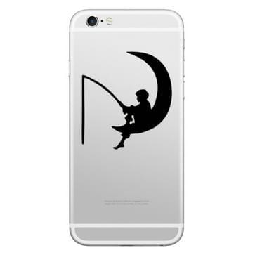 Hoed-Prins vis de Apple patroon verwisselbare decoratieve Skin Sticker voor iPhone 8 & 8 Plus, iPhone 7 & 7 Plus, iPhone 6s & 6s Plus, iPhone 6 & 6 Plus