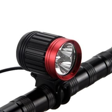 3 x CREE XML- L2 LED 5000LM 5 standen hoofdlamp fiets koplamp