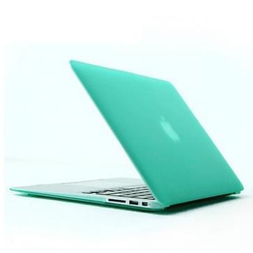 MacBook Air 13.3 inch Kristal structuur hard Kunststof Hoesje / Case (groen)