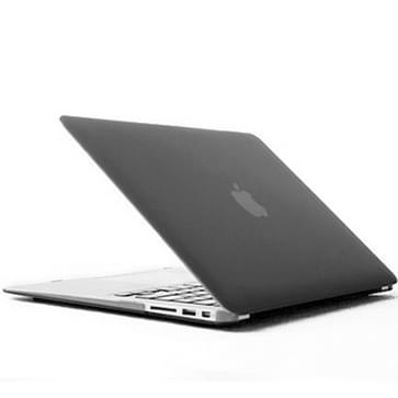 MacBook Air 13.3 inch Kristal structuur hard Kunststof Hoesje / Case (grijs)