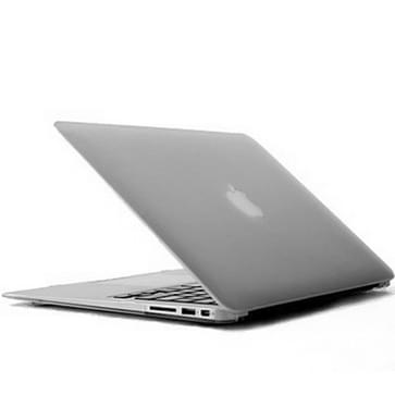 MacBook Air 13.3 inch Kristal structuur hard Kunststof Hoesje / Case (transparant)