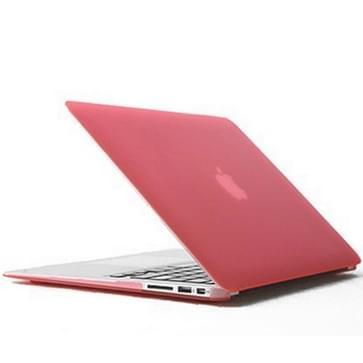 MacBook Air 11.6 inch Kristal structuur hard Kunststof Hoesje / Case (roze)
