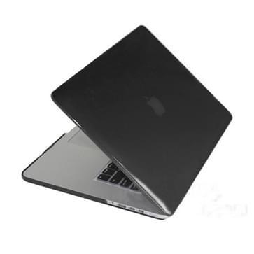 MacBook Pro Retina 13.3 inch Kristal structuur hard Kunststof Hoesje / Case (zwart)