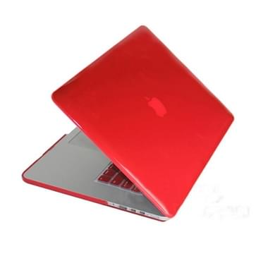 Crystal Hard Protective Case for Macbook Pro Retina 13.3 inch(Red)