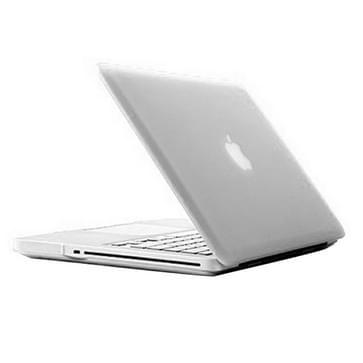MacBook Pro 13.3 inch Frosted structuur hard Kunststof Hoesje / Case (transparant)