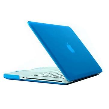 MacBook Pro 13.3 inch Frosted structuur hard Kunststof Hoesje / Case (baby blauw)