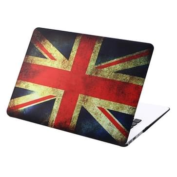 MacBook Air 11.6 inch Retro UK vlag patroon hard Kunststof Hoesje / Case