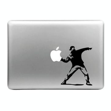 Hat-Prince Appel gooiend persoon patroon verwijderbare decoratieve Skin Sticker voor MacBook Air / Pro / Pro met Retina scherm, Maat: M