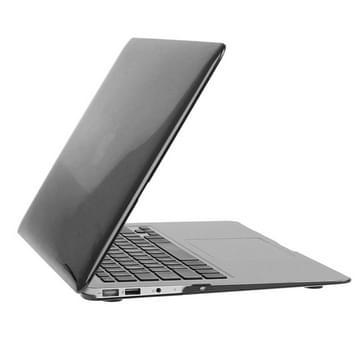 MacBook Air 13.3 inch 3 in 1 Kristal patroon Hardshell ENKAY behuizing met ultra-dun TPU toetsenbord Cover en afsluitende poort pluggen (zwart)