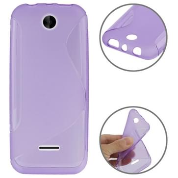 S Line Anti-slip Frosted TPU hoesje voor Nokia 225 (paars)