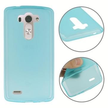 Anti-slip Frosted TPU hoesje voor LG G3 Mini(blauw)