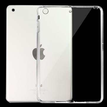 Transparant Scrub Pure Kleur TPU hoesje voor iPad mini 1 / 2 / 3 (transparant)