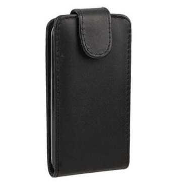 Pure Kleur Vertical Flip lederen hoesje voor Nokia Lumia 620 (zwart)