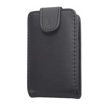 Vertical Flip lederen hoesje voor LG L40(zwart)