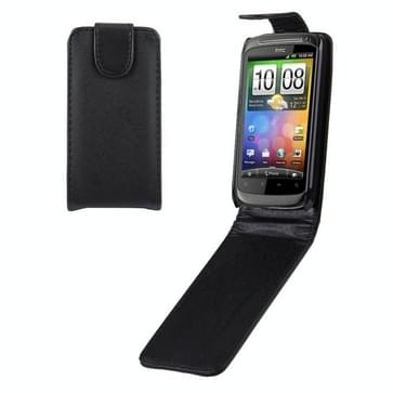 Leather Case for HTC Desire S (G12)(Black)