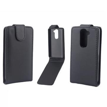 Vertical Flip Leather Case for LG G2 mini / D620(Black)