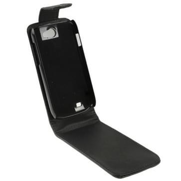 Hoge kwaliteit lederen hoesje voor Samsung Galaxy W i8150