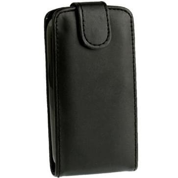Hoge kwaliteit Pure Kleur lederen hoesje voor HTC One SV (zwart)