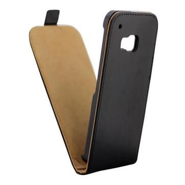 Verticale Flip hoes met magnetische sluiting lederen hoesje voor HTC One M9