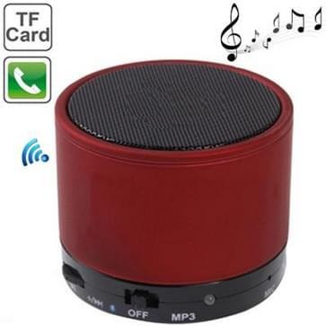 S10 Mini Bluetooth luidspreker, ingebouwde oplaadbare batterij, ondersteuning voor Handsfree Call(Red)