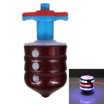 De dubbele Laser Laser-Top licht Toon Gyro met Launcher
