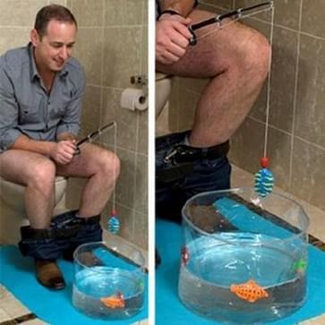 Toilet Fishing Leisure Fishing Game