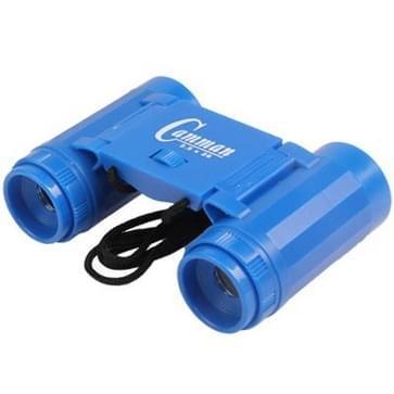 Children Pocket Binocle Binoculars 2.5 x 26 Field Glasses Outdoor Telescope Toy Gift for Hunting Climbing(Blue)