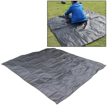 Waterproof Oxford Cloth 420D Oxford Material Camping Picnic Beach Tent Roof Tarp (Size: 215x215cm)(Army Green)