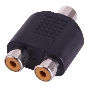 RCA vrouwtje naar 2 RCA vrouwtje Adapter
