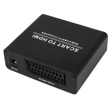 HDV-8D SCART naar HDMI 720P / 1080P HD Video Converter Adapter Scaler Box(zwart)