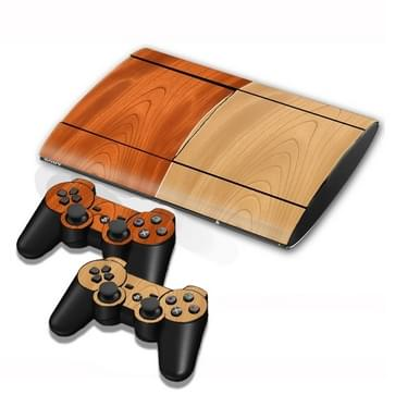 Wood Texture Decal Stickers for PS3 Game Console